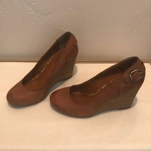 Lucky Brand Wedges. Size 7.5.
